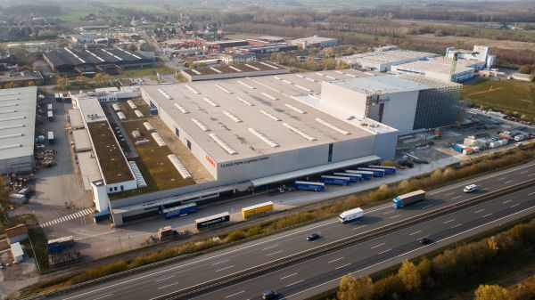 Luftbild Class Parts Logistics Center / CS Parts Hamm-Uentrop