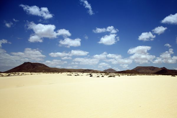 Nationalpark El Jable - Dünen von Corralejo