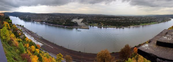 Panorama Deutsches Eck