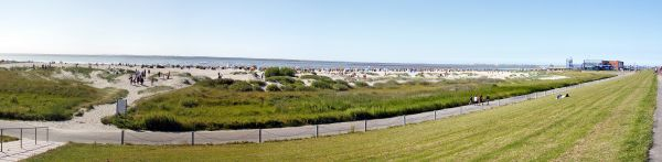 Panorama Norddeich, Strand