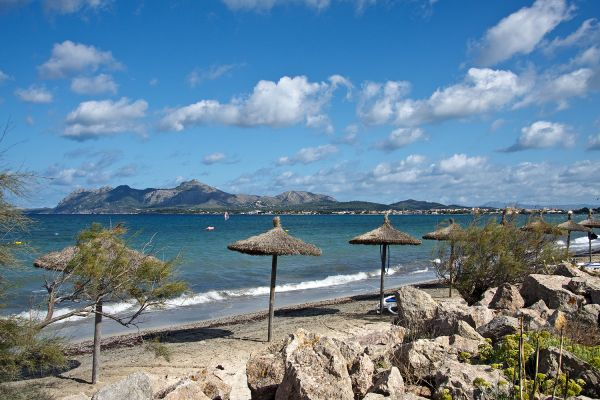 Strand am Bahia Club, Alcudia